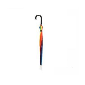 Unisex skėtis Derby Hit Golf vaivorykštės spalvų uždarytas